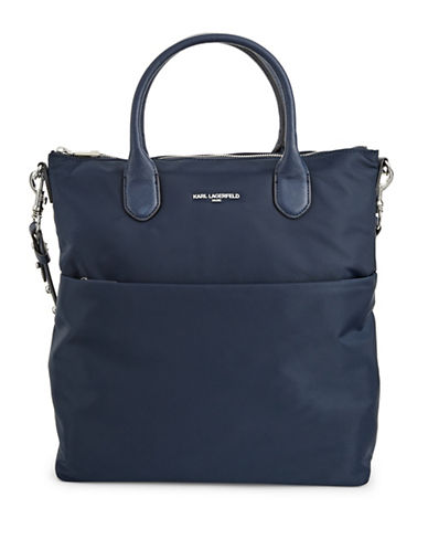 Karl Lagerfeld Paris Arielle Tote-BLUE-One Size