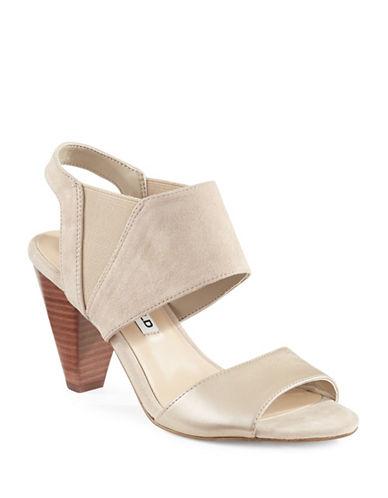Karl Lagerfeld Paris Floquet8 Cone Heel Sandals-BEIGE-10