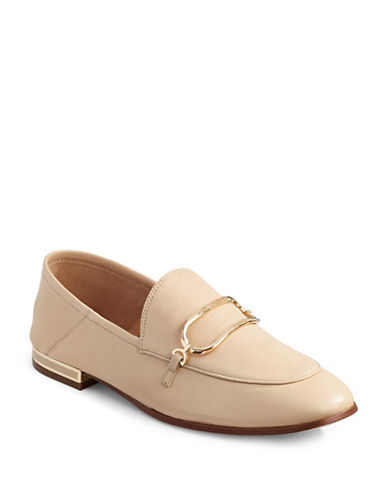 Karl Lagerfeld Paris Ember Leather Loafers-NUDE-11 88949968_NUDE_11