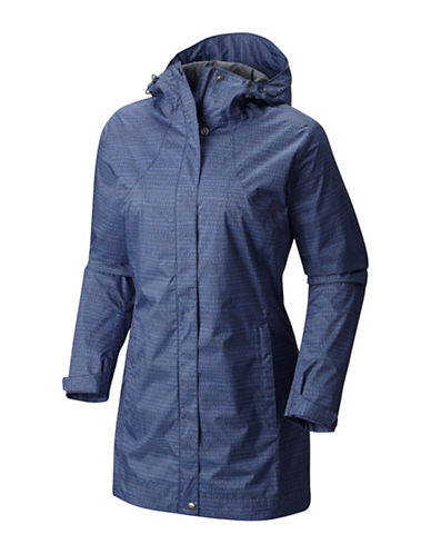 Columbia Splash a Little Rain Jacket-NOCTURNAL-Small