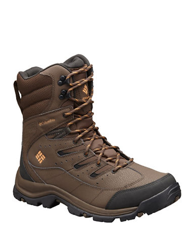 Columbia Gunnison Omni-Heat Waterproof Boots-BROWN-10