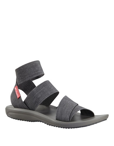 Columbia Barraca Omni-Grip Strap Sandals-GREY-6