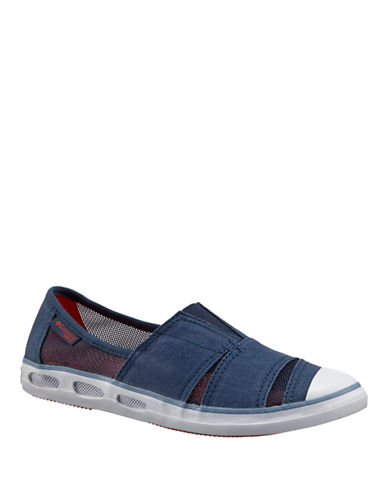Columbia Bombie Canvas Slip-On Sneakers-BLUE-8