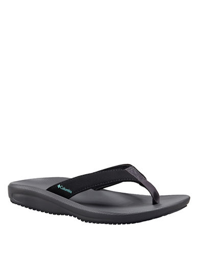 Columbia Baracca Omni-Grip Flipflops-BLACK-7