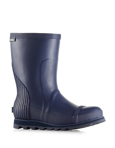 Sorel Joan Rain Short Boots-BLUE-6