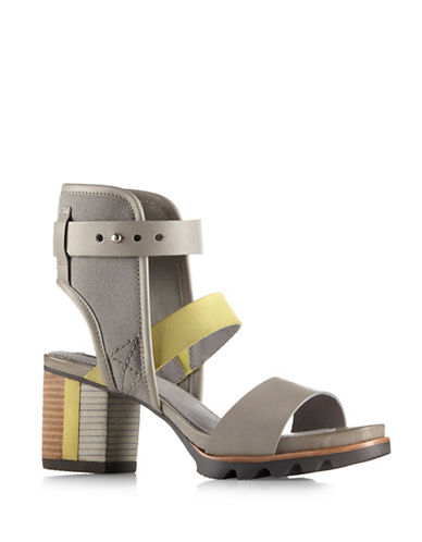 Sorel Addington Cuff Sandals-GREY-7