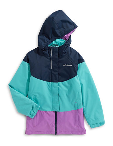 Columbia Whirlbird Hooded Jacket-BLUE-Large 89451739_BLUE_Large
