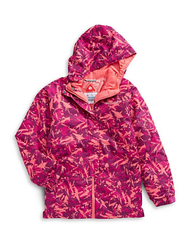 Columbia Whirlbird Hooded Jacket-RED-X-Small 89451738_RED_X-Small