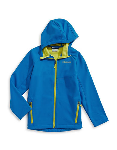 Columbia Fleece Jacket-BLUE-Small