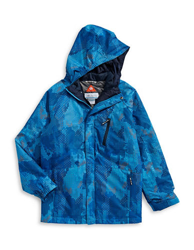 Columbia Whirlbird Jacket-BLUE-Small