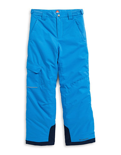 Columbia Bugaboo Waterproof Pants-BLUE-Large