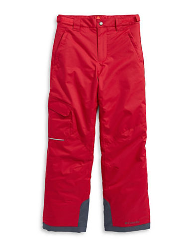 Columbia Bugaboo Waterproof Pants-RED-Small