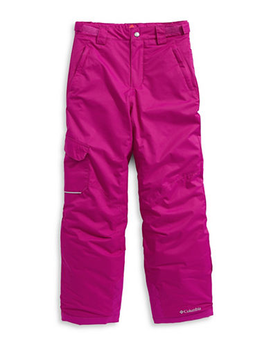 Columbia Bugaboo Waterproof Pants-RED-Medium