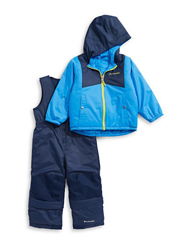 Columbia Two-Piece Hooded Jacket and Zip-Front Jumpsuit Set-MULTI-4