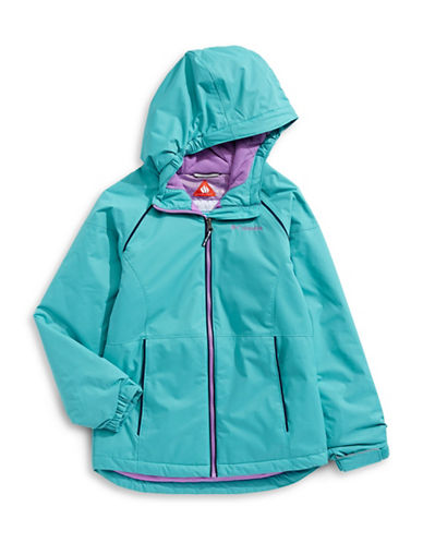 Columbia Alpine Seamed Hooded Jacket-BLUE-Medium