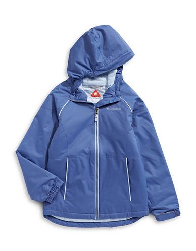 Columbia Alpine Seamed Hooded Jacket-PURPLE-Small