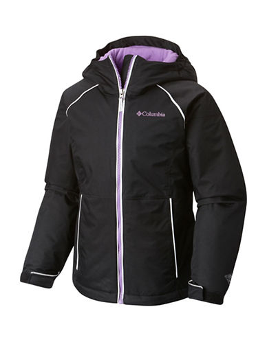 Columbia Girls Alpine Action Jacket-BLACK-X-Small