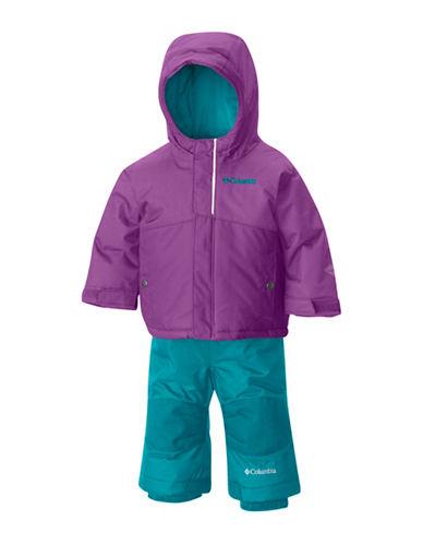 Columbia Colour Block Snowsuit-PURPLE-XXSmall