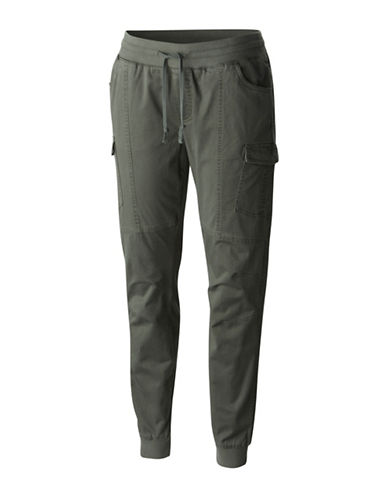 Columbia Teton Trail II Skinny Cargo Pants-GREEN-Large