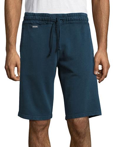 Superdry Cotton Sport Shorts-DARK GREY-Large 88609812_DARK GREY_Large