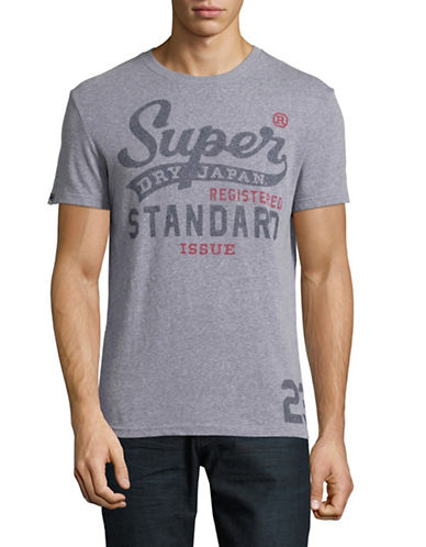 Superdry Standard Issue T-Shirt-GREY-Large 88941400_GREY_Large