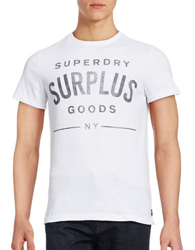 Superdry Surplus Goods Graphic T-Shirt-WHITE-Large 88847814_WHITE_Large