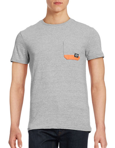 Superdry Surplus Pocket T-Shirt-GREY-X-Large 88847825_GREY_X-Large