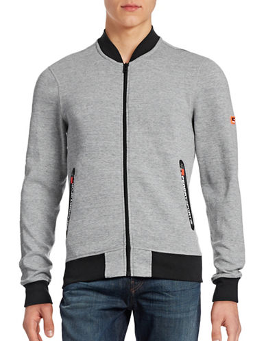 Superdry Gym Tech Bomber Jacket-GREY-Large 88705362_GREY_Large