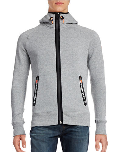 Superdry Zip-Up Hoodie-GREY-Small 88705385_GREY_Small