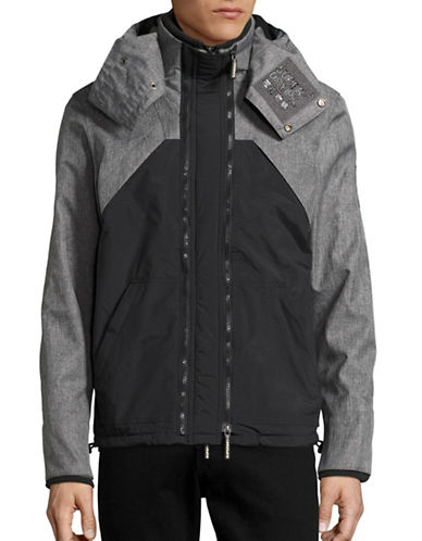 Superdry Hooded Wind Hybrid Jacket-BLACK-X-Large 88847840_BLACK_X-Large