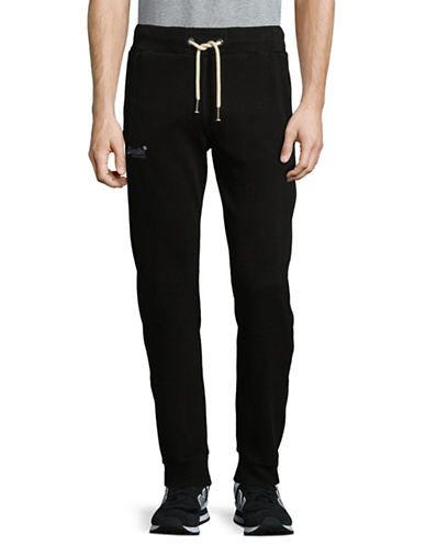 Superdry Static Print Jogger Pants-BLACK-X-Large