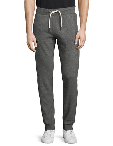 Superdry Static Print Jogger Pants-GREY-Medium