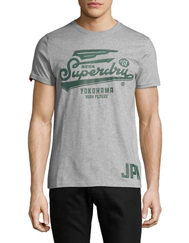 Superdry High Flyers T-Shirt-GREY-Medium 89692180_GREY_Medium