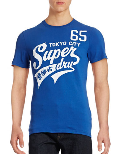 Superdry High Number 65 Entry T-Shirt-BLUE-X-Large 88609758_BLUE_X-Large