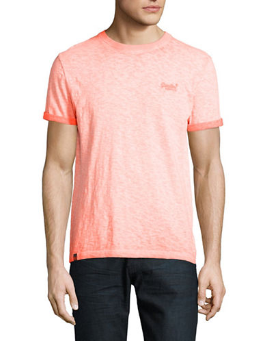 Superdry Low Roller T-Shirt-ORANGE-XX-Large