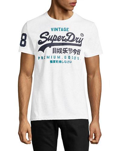 Superdry Premium Goods Duo Tee-WHITE-Medium 89275743_WHITE_Medium