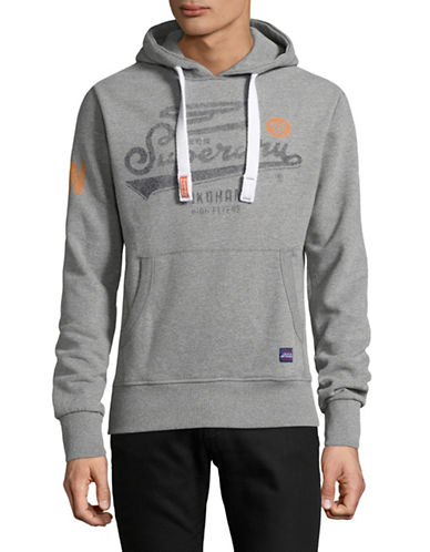 Superdry High Flyers Graphic Hoodie-GREY-Large 89275764_GREY_Large