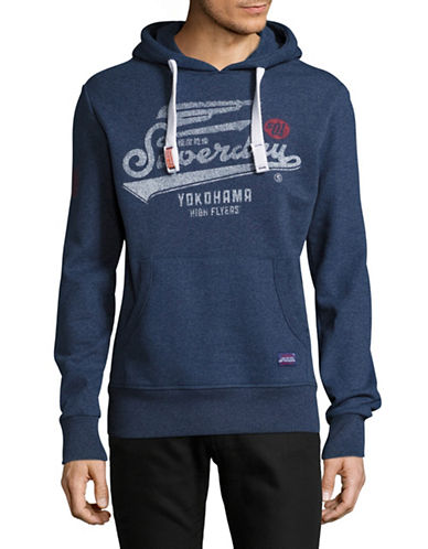 Superdry High Flyers Graphic Hoodie-BLUE-Medium 89275768_BLUE_Medium