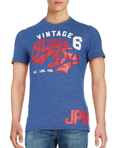 Superdry Logo Graphic T-Shirt-BLUE-X-Large 88786291_BLUE_X-Large