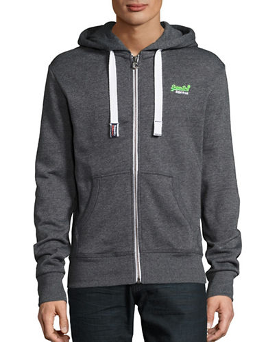 Superdry Fleeceback Hoodie-GREY-Large 88941419_GREY_Large