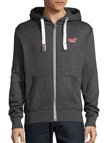 Superdry Fleeceback Hoodie-BLACK-Medium 88786304_BLACK_Medium