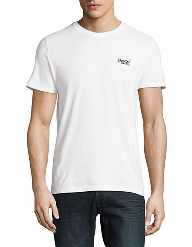 Superdry Orange Label Vintage Embroidered T-Shirt-WHITE-Large