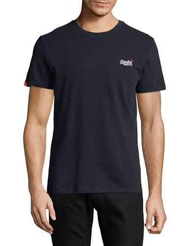 Superdry Orange Label Vintage Embroidered T-Shirt-NAVY-X-Large