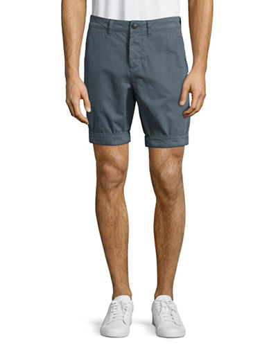 Superdry Chino Shorts-BLUE-Large