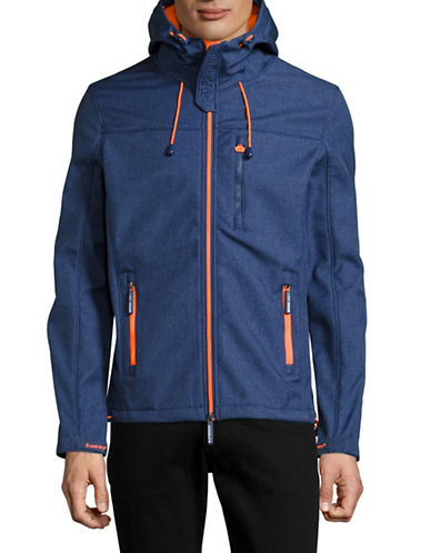 Superdry Hooded Windtrekker Jacket-BLUE-Large 89081003_BLUE_Large