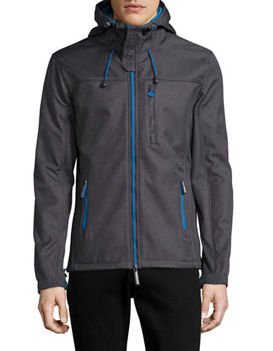 Superdry Hooded Windtrekker Jacket-GREY-Small 89080997_GREY_Small