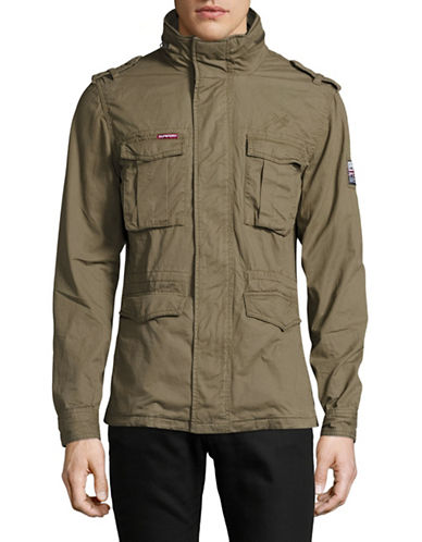 Superdry Rookie Military Jacket-GREEN-Small 89150017_GREEN_Small