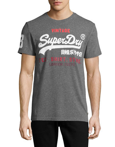 Superdry Shop Graphic T-Shirt-GREY-Medium 89149952_GREY_Medium