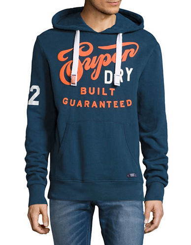 Superdry Built Guaranteed Hoodie-BLUE-X-Large 89149982_BLUE_X-Large