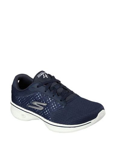 Skechers Go Walk 4 Exceed Running Shoes-NAVY-8 88460902_NAVY_8